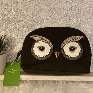 Kate Spade Marni Owl Cosmetics Bag